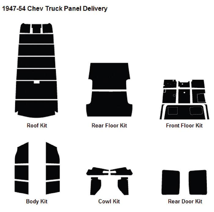 Chevrolet_Sound_Deadener_Insulation_Kit_194754_Panel on 1947 Ford Trunk
