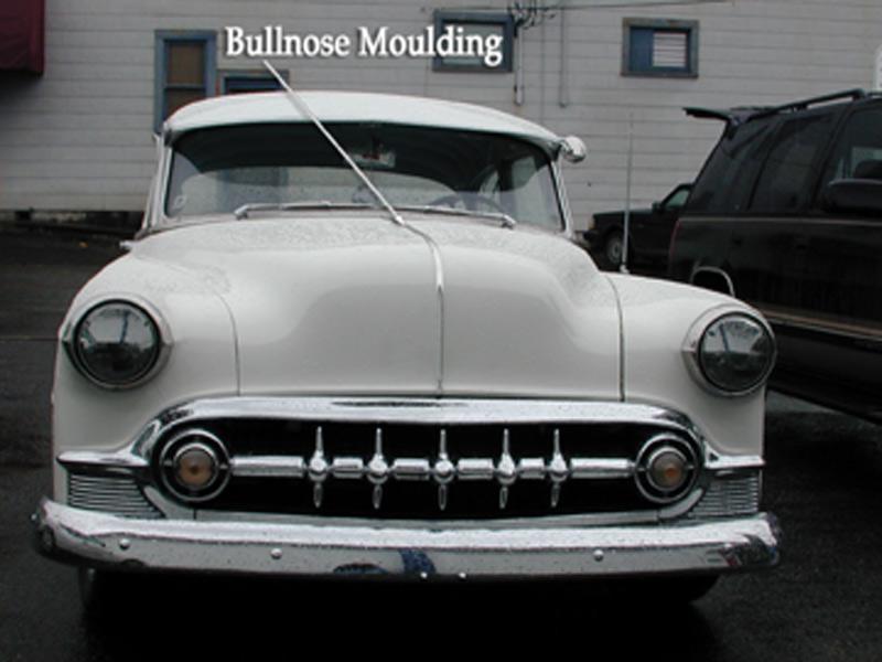 Street Rod Parts 187 Chevrolet Hood Moulding Polished