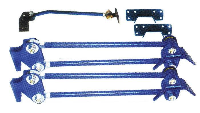 Street Rod Parts » Suspension, Rear -Parallel 4-Link, Weld-On Kit