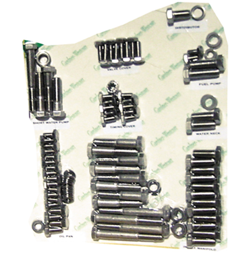 Street Rod Parts » Chevrolet Engine Bolt Kit