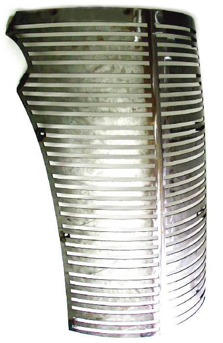 street rod parts chevrolet grille laser cut gangster grille plain steel