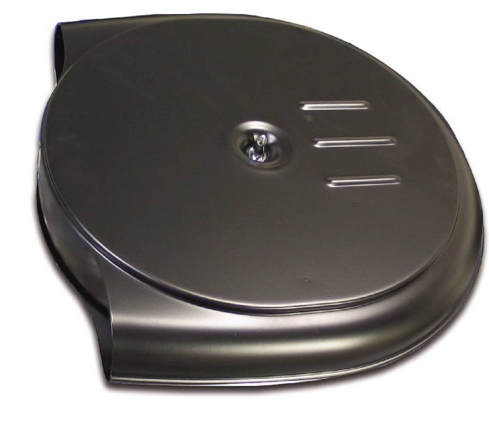 Reproduction Caddy Style Air Cleaner : Street rod parts air cleaner olds cadillac steel style
