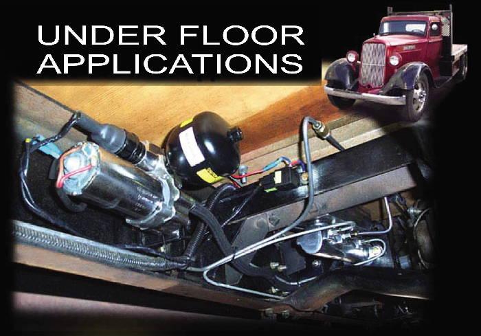Street Rod Parts 187 Brake Master Cylinder Electric Power