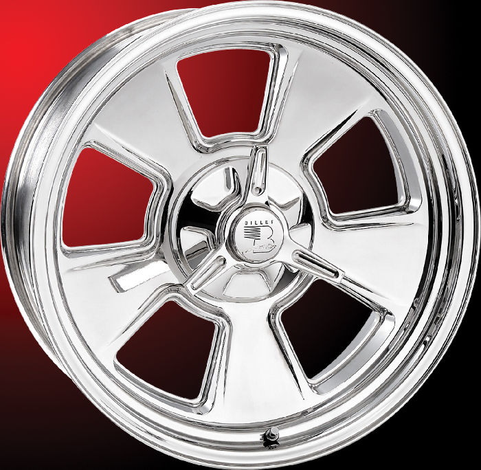 Ford Vs Chevy Trucks >> Street Rod Parts » Wheels, Billet Aluminum - Vintage ...
