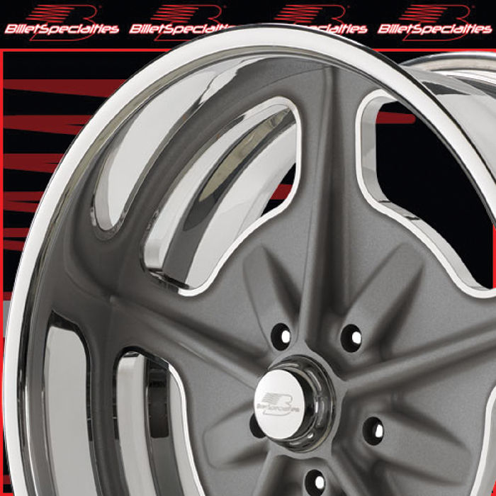 Dodge Vs Chevy >> Street Rod Parts » Wheels, Billet Aluminum - Vintage