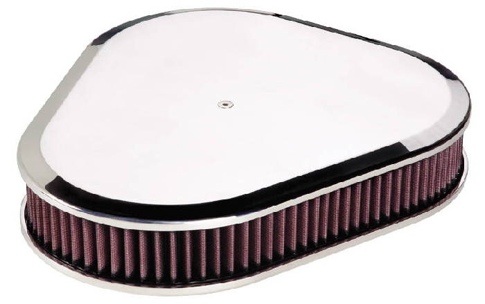Street Rod Air Cleaners : Street rod parts air cleaner billet triangle plain