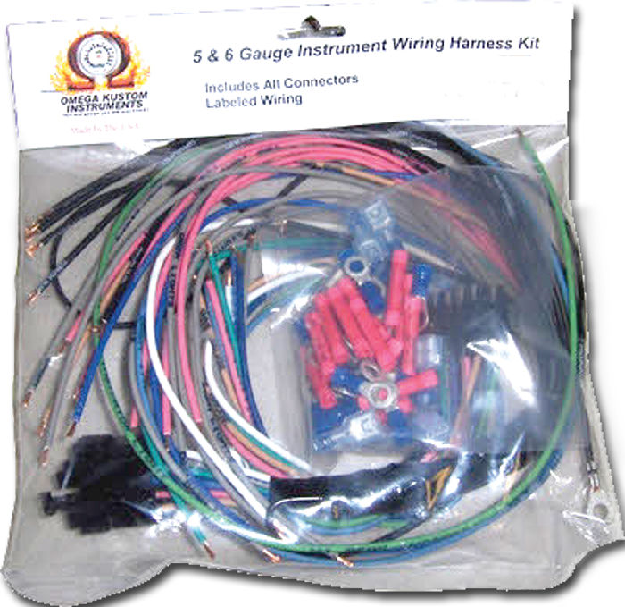 Instrument Gauge Wiring Harness on