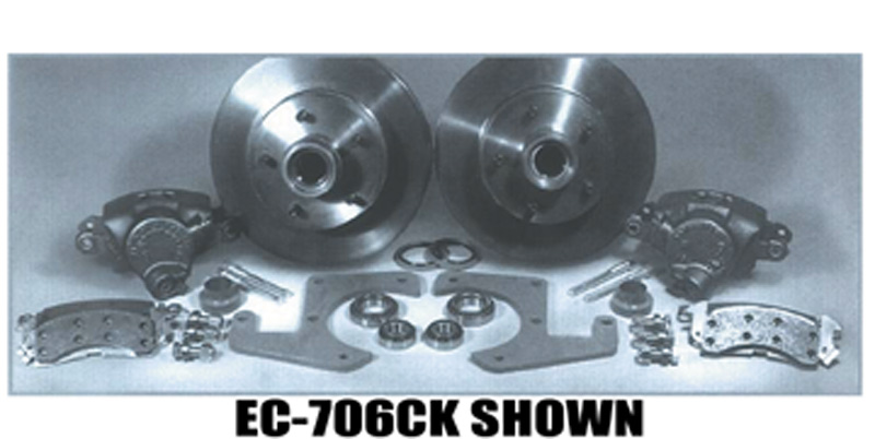 Street Rod Parts 187 Chevy Brake Disc Conversion Front 39