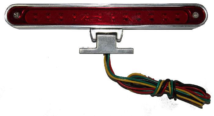 Street Rod Turn Signal Lights : Street rod parts led billet rd brake light with turn signal