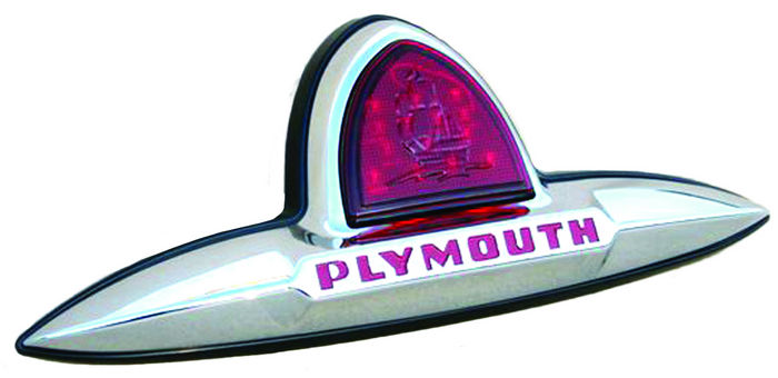 Street Rod Parts 187 Plymouth Led Third Brake Light Assembly