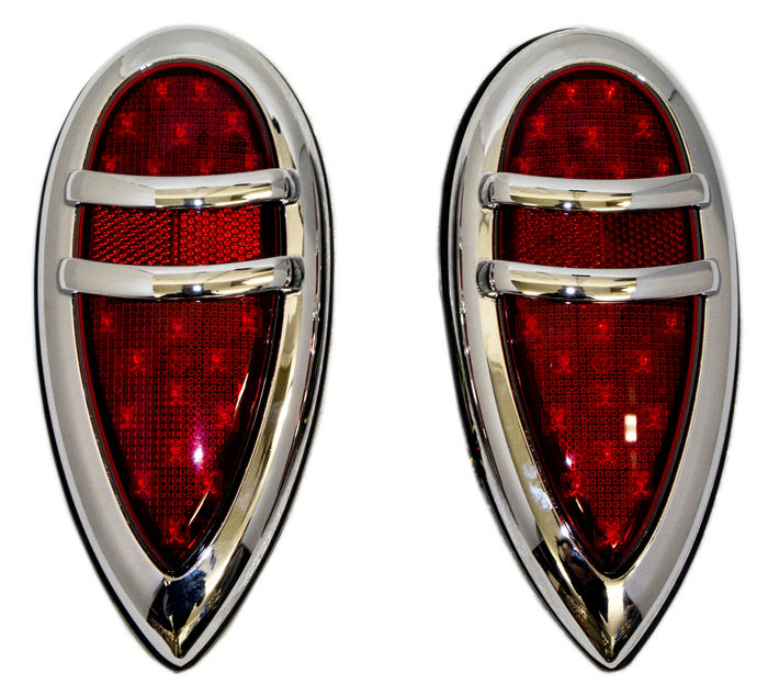 Street Rod Parts Tail Light Assembly LED 38 39 Lincoln