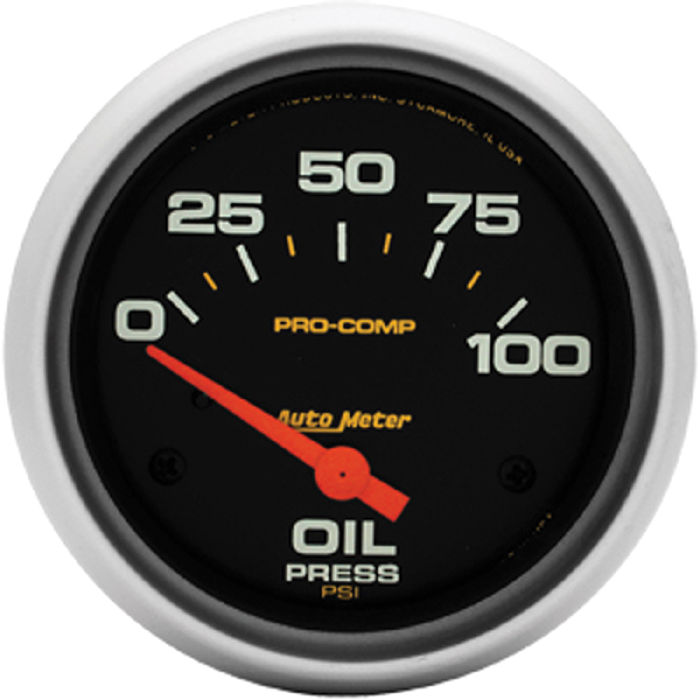 Auto Electric Instrument : Street rod parts instrument gauges auto meter pro comp