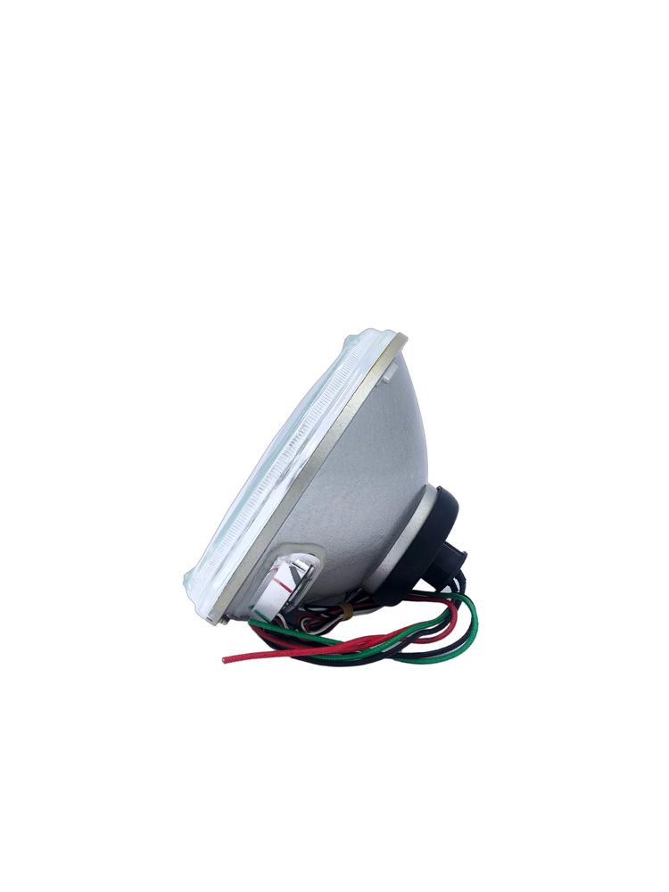 Street Rod Parts 187 Headlight Halogen Bulb With Amber Led