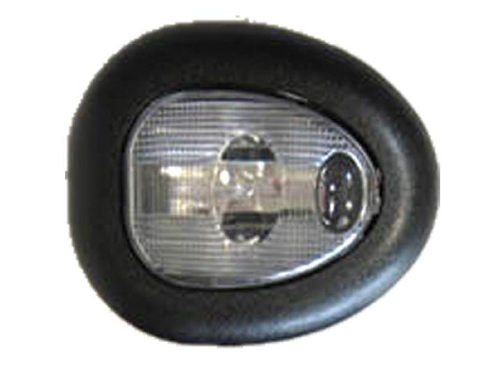 Street Rod Parts 187 Interior Light Single Dome Universal