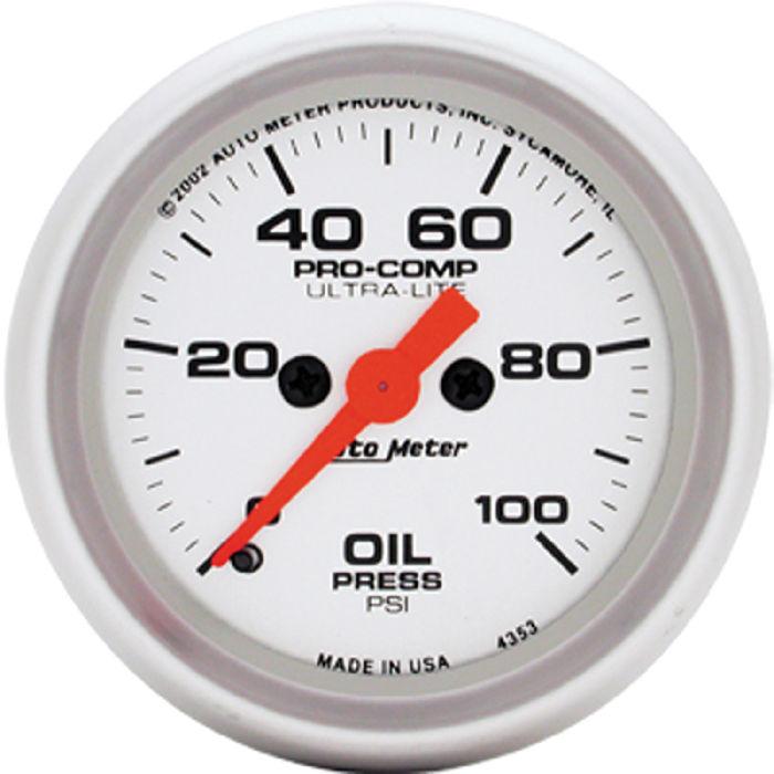Auto Electric Instrument : Street rod parts instrument gauges auto meter ultra