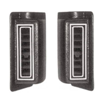 Street Rod Parts 187 Air Conditioning Vents Kick Panel