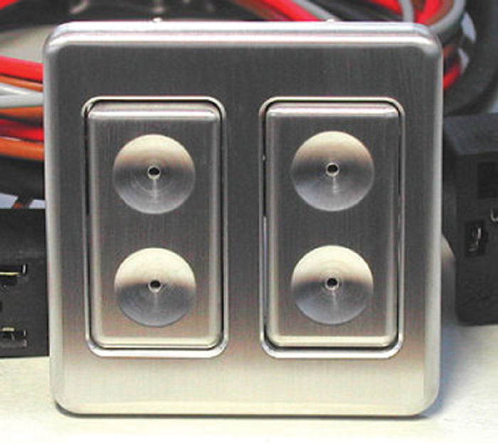 Street Rod Parts 187 Power Window Switch Kit Dual