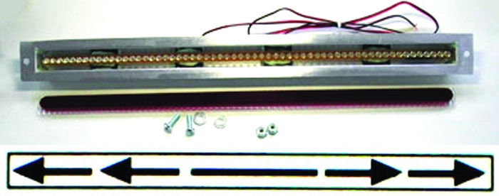 Street rod parts led 3rd brake light 60 led strip 15 14 long x led 3rd brake light 60 led strip 15 14 long x aloadofball Choice Image