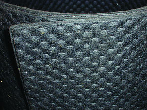 "Body Sound Deadener / Insulation - Felt Waffle Pattern, 3/32"" X 3' X 8' Photo Main"
