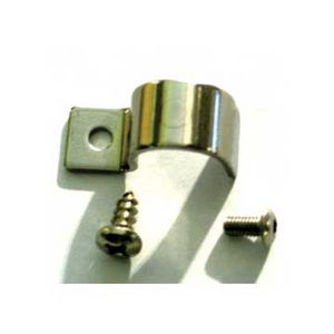 "Line Clamps -1/2"" Single Line Clamp Set Of 12 W/Hardware. Stainless Steel Photo Main"