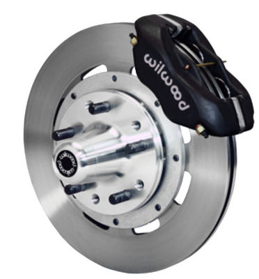 "Wilwood Forged Dynalite Pro Series Front Brake Kit 12.19"" Rotor Black Caliper 49-54 Chevy Car / 53-62 Corvette Photo Main"