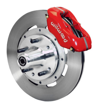 "Wilwood Forged Dynalite Pro Series Front Brake Kit 12.19"" Rotor Red Caliper 49-54 Chevy Car / 53-62 Corvette Photo Main"