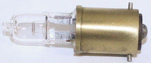 Bulb -Taillight Or Park Light Halogen Clear Bulb 12v Single Contact (Straight Pin) Photo Main