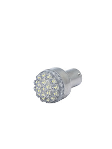 Bulb -LED. Super Bright White 6v, Straight Pin (1156 Style) Photo Main
