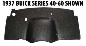 1961-1962 Buick Electra/Invicta (A) Firewall Insulator (OEM Color Black) Photo Main