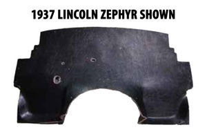 1942-1948 Lincoln Zephyr Molded Firewall Insulator Photo Main
