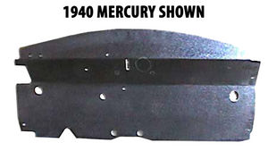 1941 Mercury Car Firewall Insulator (ABS Plastic) Photo Main