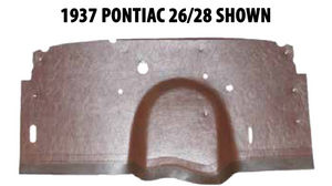1958 Pontiac Bonneville Firewall Insulator Photo Main