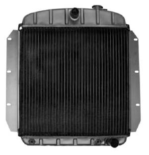 Radiator (Copper-Brass), V8 Small Block, 4 Core With Trans Cooler Photo Main