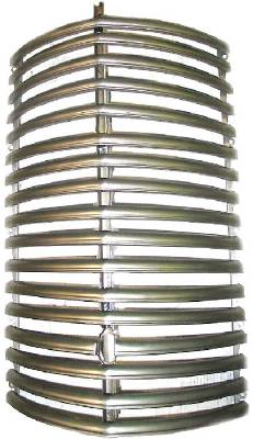 Grille With Center Strip, Plain Steel Photo Main