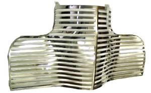 Grille -Laser Cut (Gangster Grille), Polished Stainless Photo Main