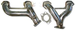 Headers. Tube -Fits 216ci, 235ci & 261ci Chevy 6 Cylinder. Polished Stainless With Flanges Photo Main
