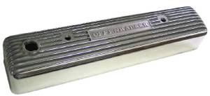 "Valve Cover - ""Offenhauser"", Fits Chevy 216ci. Polished Aluminum Photo Main"