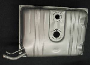 "Gas Tank -Steel, 18 Gallon. Ready For Fuel Injection Unit. Die Stamped, Comes With Straps And Hardware. 3/8"" Pickup Tube (Except Wagon & Sedan Delivery) Photo Main"