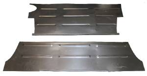 Trunk Floor Repair Panels (2 Piece Set) Sedan Or Coupe Photo Main