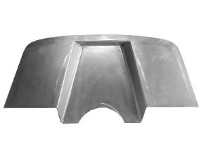 Firewall Tapered For Use With Booster - Small Or Big Block Chevy.  Photo Main