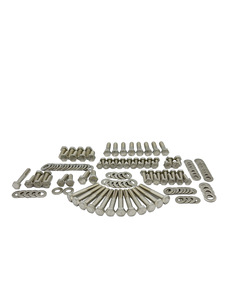 Engine Bolt Kit - Ford 289, 302 With Standard Exhaust - Hex Bolts, Stainless Photo Main