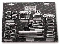 Engine Bolt Kit - Mopar Small Block With Headers - Hex Bolts, Stainless Photo Main