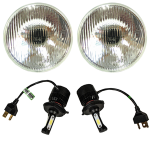 LED Headlight Kit 7 Inch 12v Photo Main