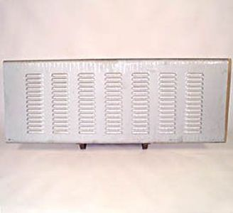 Tailgate Cover - Hide The Dents, 7 Rows Of Louvers (Stepside) Photo Main