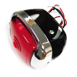 Led Tail Light Assembly. Right Side With Black Housing 12 Volt Photo Main
