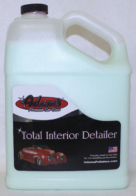 Adam's Total Interior Detailer Spray, 1 Gallon Photo Main