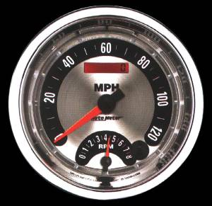 "Instrument Gauges - Auto Meter American Muscle Series, 5"" Speedo Tach Combo (Electronic) Photo Main"