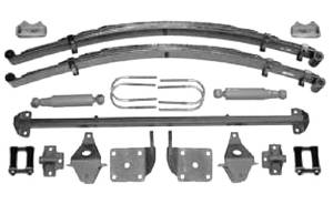 Axle Mounting Kit-Rear Bolt On -47-54 Chevrolet Pickup With Gas Shocks Photo Main