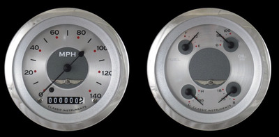 Instrument Gauges - (2 Gauge Set) - All American Series 12v Photo Main