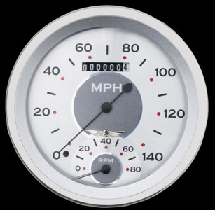 "Classic Instruments 5"" Speedtachular Speedo-Tach Gauge - All American Series 12v Photo Main"